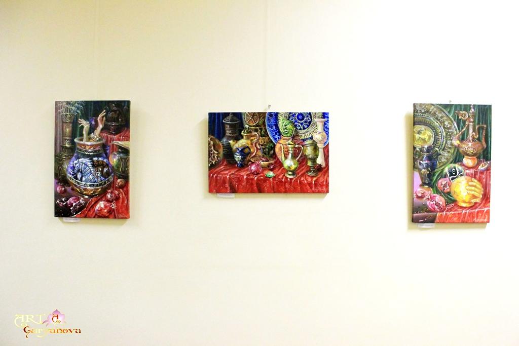 персональная выставка картин «Метаморфозы» в доме Правительства Кабинета Министров Украины,  г. Киев