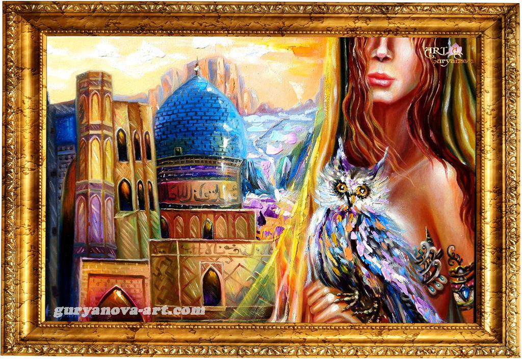 картина Калейдоскоп восточных метаморфоз «Мудрость Востока»