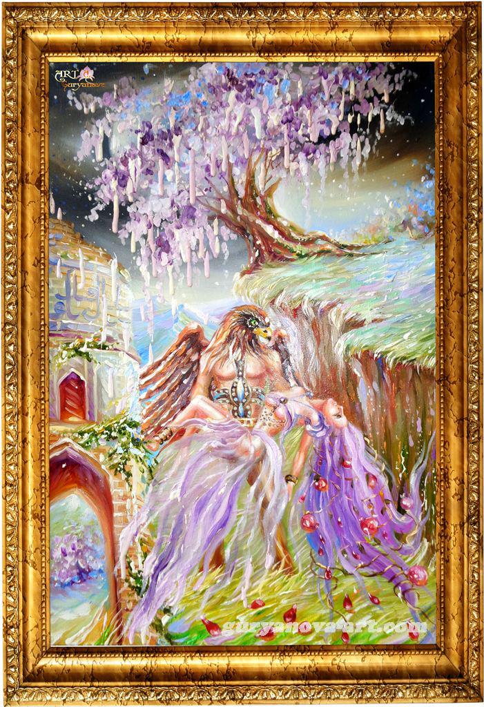 картина Калейдоскоп восточных метаморфоз «Спаситель»
