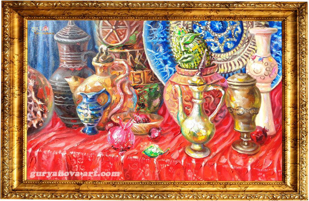 картина Калейдоскоп Восточных метаморфоз  «Сон»