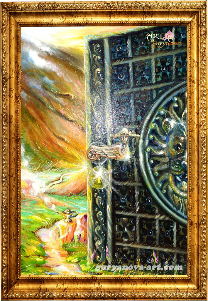 картина Калейдоскоп восточных метаморфоз «Двери желаний»