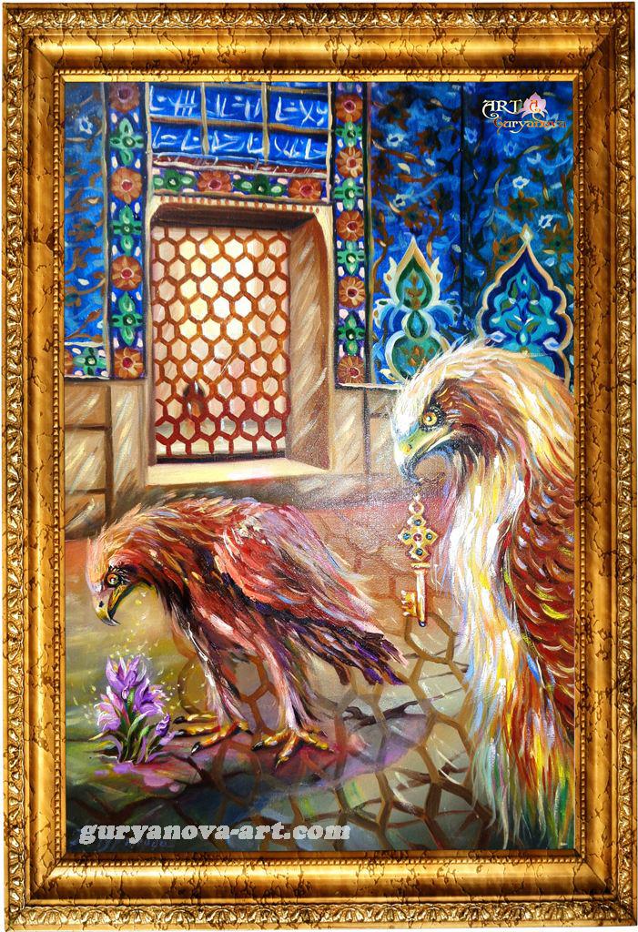 картина Калейдоскоп восточных метаморфоз «Ключник»