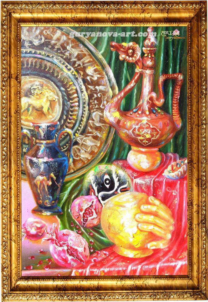 картина Калейдоскоп восточных метаморфоз «Магия»
