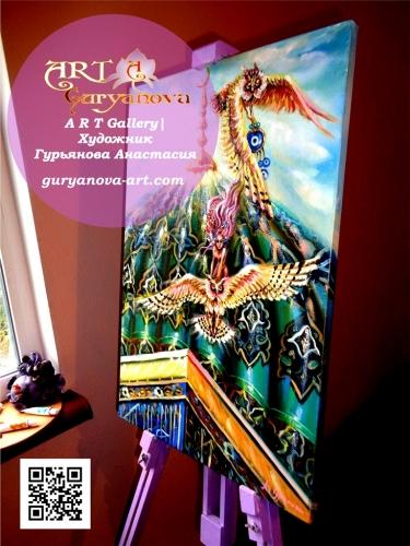 художник Гурьянова Анастасия картины маслом