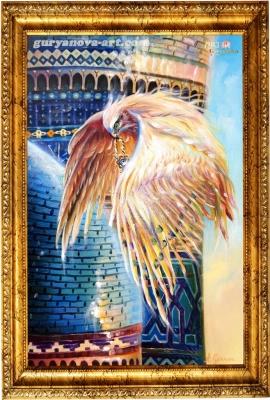 картина Калейдоскоп восточных метаморфоз «Посланник»
