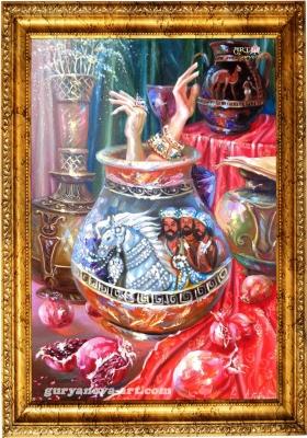 картина Калейдоскоп Восточных метаморфоз «Браслет»
