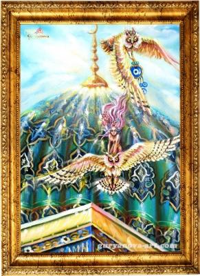 картина Калейдоскоп восточных метаморфоз «Вестница»