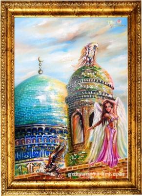 картина Калейдоскоп восточных метаморфоз «Дозорный»