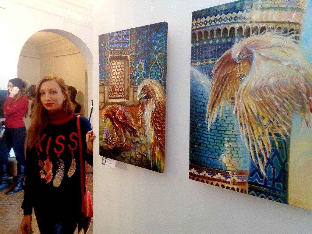 выставка картин » Діалоги-VIII» г. Черкассы.