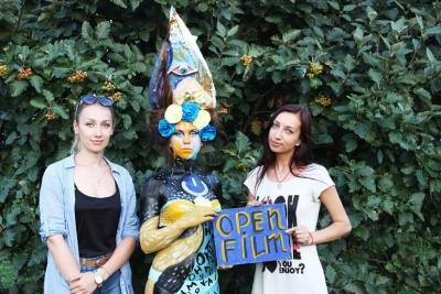 «КиноШот» в Черкассах. Боди -арт «Open Film»