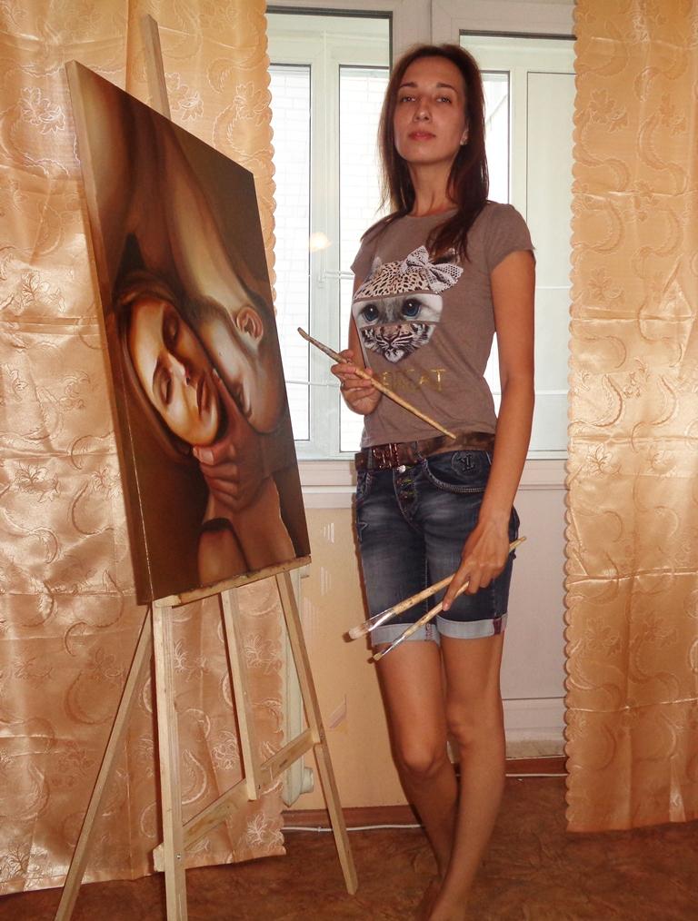 портрет маслом в голландском стиле