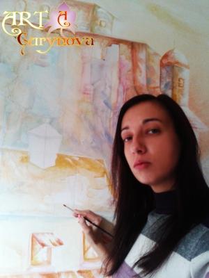 художественная роспись стен, картины