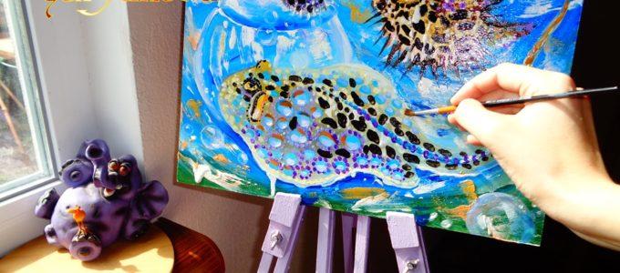 живопис картини морська тема