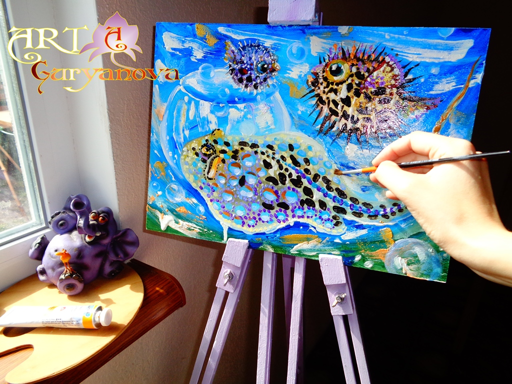 живопись картины морская тема